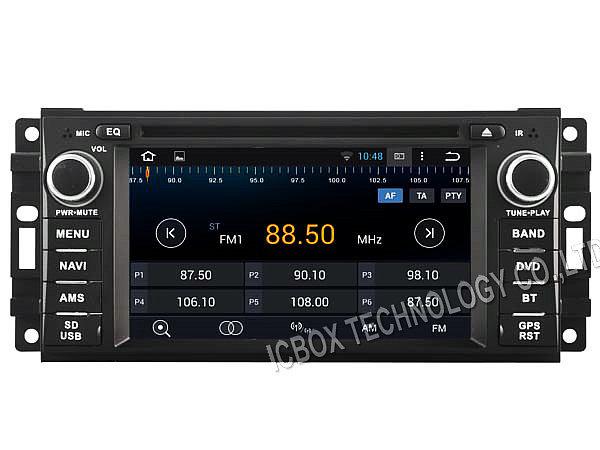 Android 4.4.4 DVD de voiture GPS pour DODGE CALIBER / coliber, Radio TV BT USB AUX DVR audio stéréo 3 g wifi capacitif HD écran 1024 * 600(China (Mainland))
