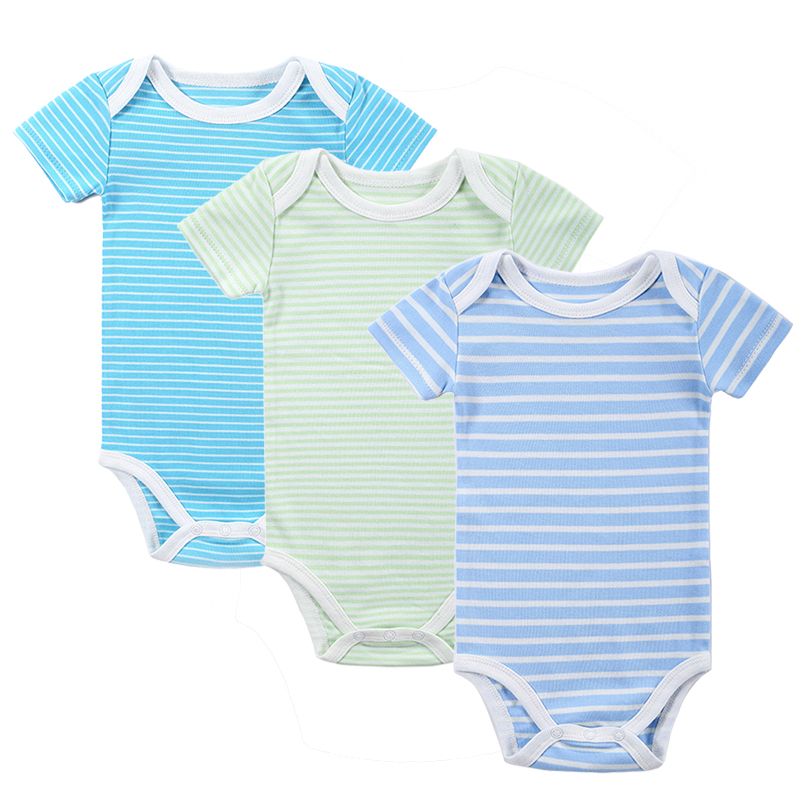 New 3PCS Baby Boy Rompers Baby Clothing Set Summer Cotton Baby Girl Boy Short Sleeve Car Printed Jumpsuit Newborn Baby Clothes(China (Mainland))