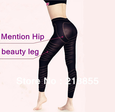 Massage Shaper Slimming Leg Fat Burning Leg Shape Slender Legs Carry Buttock Belly In Hip Training Pants Ninth Pants