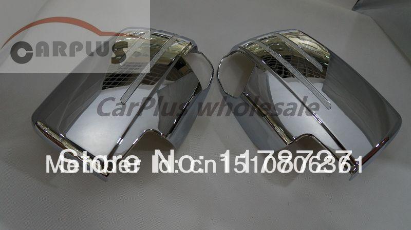 Chrome mirror cover  for ISUZU D-MAX 2012