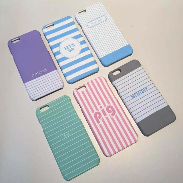 Etui iPhone 6/6S Striped różne wzory