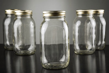 28OZ Glass Mason Jars With Metal Lids, Clear,USD48.00 for 6pcs/Each USD8.0(China (Mainland))