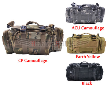 Swat Molle Tactical Utility Waist Hand Shoulder Bag Pouch Camping 800D---CL00009