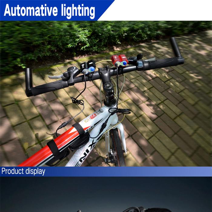 Фара для велосипеда SolarStorm 2 X CREE Xm/l U2 5000Lm 6400mAh + X2