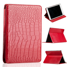 Hot Sale Tablet Case for Apple iPad MINI 1 2 3 7.9 Inch New Brand High Quality Fashion Slim Crocodile Leather Case(China (Mainland))