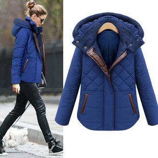 New 2015 Winter Cotton Coat Women Outwear Plus Size Women Clothing Cotton Girls Jackets And Coats Winter Women Jacket Winter