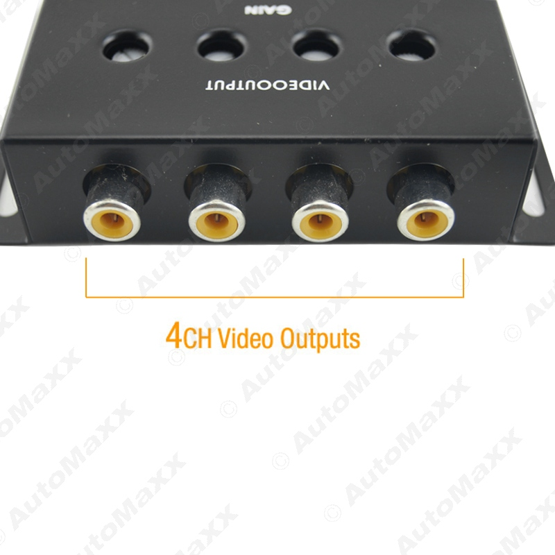 10Pcs Auto/Car 1 to 4 Output Video Amplifier Signal Booster for DVD/LCD/TV #J-1320(China (Mainland))