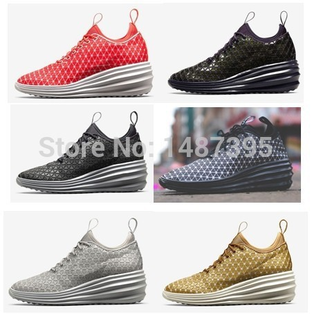 Free Shipping 2014 New Arrival High Quality Lunar Elite Sky Hi City Pack Women's breathable Casual Shoes running shoes(China (Mainland))