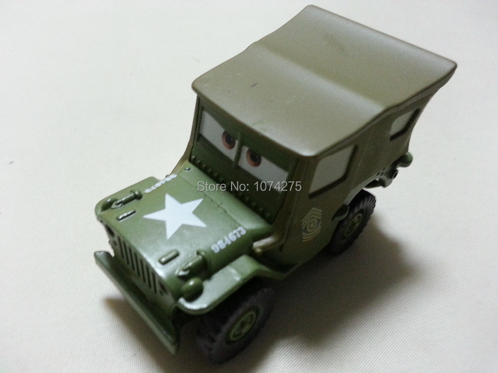 Pixar Cars 1st Movie original Sarge Metal Diecast Toy Car 1:55 Loose Brand New In Stock & Free Shipping(China (Mainland))