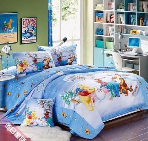 kids favorite cartoon bear bedding sets duvet cover bed