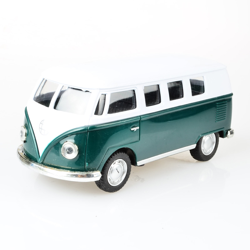 Alloy volkswagen VW Mini bus 1:24 Alloy Diecast Models Car Toy Collection For Boy Children As Gift brinquedos meninas(China (Mainland))