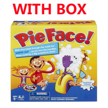 Pie Face Family Funny Game environmental 2016 hot Party game for adult and children birthday fun toys(China (Mainland))