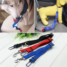 Adjustable Practical Dog Cat Pet Car Safety Seat Belt Leash Seat Belt Harness Restraint Collar Leads Travel Clip(China (Mainland))