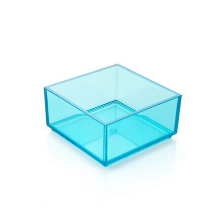 Desktop cosmetics receive a case creative transparent plastic box acrylic powder box an on-board pure color china clothes(China (Mainland))