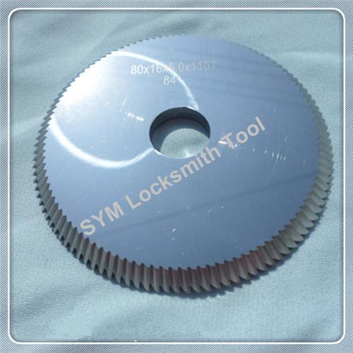 D704861ZB carbide angle milling cutter P01W 80-5-16 blade for SILCA BRAVO key cutting machines duplicating keys(China (Mainland))