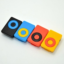 Wholesale Clip Dual Color Music MP3 Player with TF card Slot For Running and Leisure.