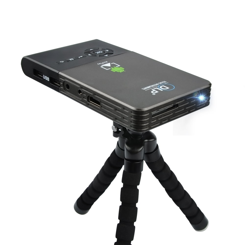 mini projector wifi smart dlp projector full hd proyector