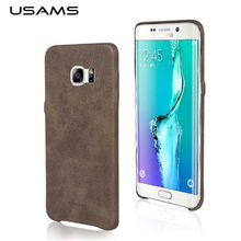 For Galaxy S7 case USAMS Soft case for Samsung Galaxy S7 Leather Back Cover Ultra Slim for samsung Galaxy S7 Case PU material(China (Mainland))