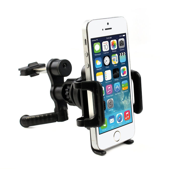 New Fashion 360 Degree Car Holder Stand Air Vent Classic Black Mount Cradle Holder Stand For Mobile Cell Phone GPS Lucky Gifts(China (Mainland))