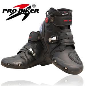2015 Brand New Motorcycle Boots Pro-biker Speed Bikers Moto Racing