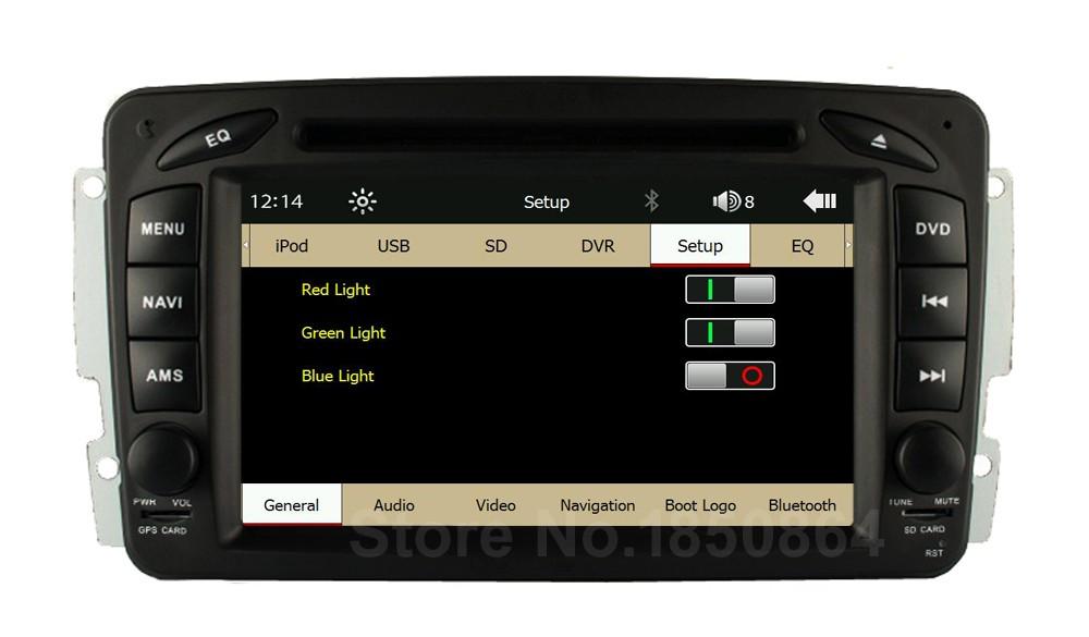 Купить Оригинал UI Автомобильный Dvd Радио GPS для Mercedes/Benz W203 Viano вито W638 W639 W168 W210 C180 C200 C220 C230 C240 C270 C320