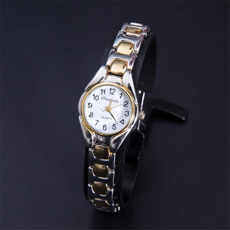 2016 New Fashion Watch Women Dress Watches Montre Femme Gold Full Steel Analog Quartz Ladies Wrist watches(China (Mainland))