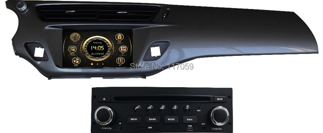 wince car dvd player 7 inch navigation for citroen c3 2013 ds3 with gps bluetooth 3g radio. Black Bedroom Furniture Sets. Home Design Ideas