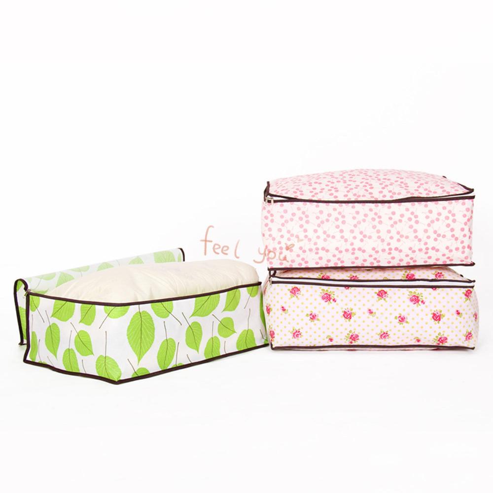 Foldable Dust-proof Storage Bag Blanket Closet Quilt Sweater Bedding Organizer(China (Mainland))