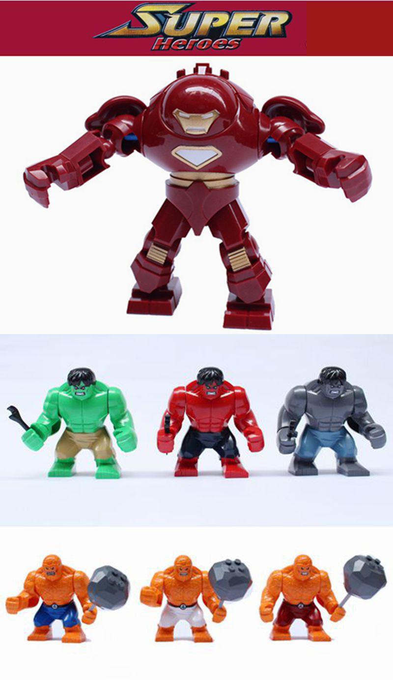 Big Iron Man vs Hulk Iron Man Hulk Buster vs