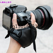 Free shipping + tracking number Faux Leather Grip Strap  Photo Studio  for Canon for Nikon for Sony for Pentax