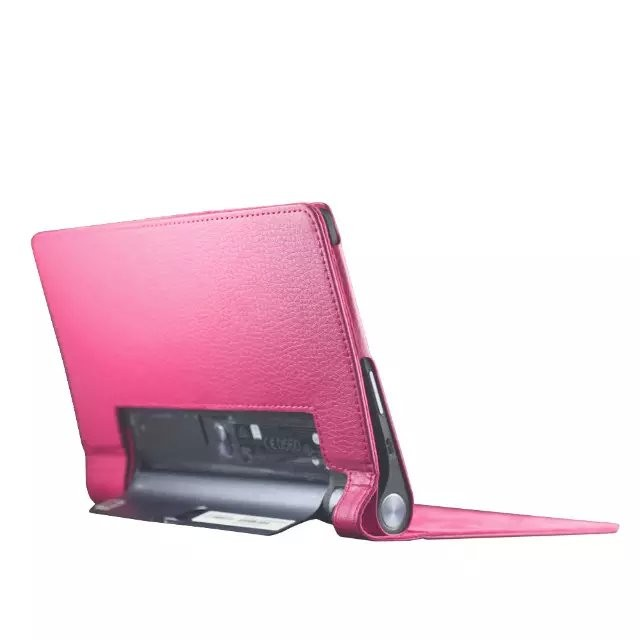 10pcs For Lenovo yoga tab 3 850f Lychee PU leather stand cover sleeve,for Lenovo 850f 8 tablet leather case funda,can mix color<br><br>Aliexpress