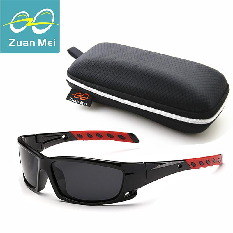 Zuan Mei Hot Sale Polarized Sunglasses Men Outdoor Sport Sun Glasses For Driving Fishing Golfing Gafas De Sol Hipster Essential(China (Mainland))