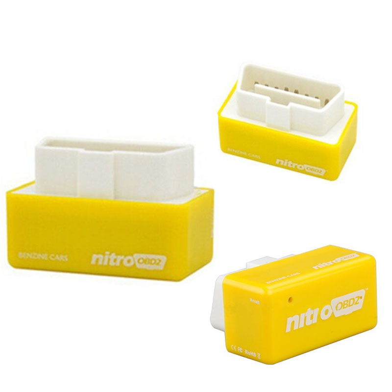 Plug and Drive Nitro OBD2 nitroobd2 Performance Chip Tuning Box for Benzine Car(China (Mainland))