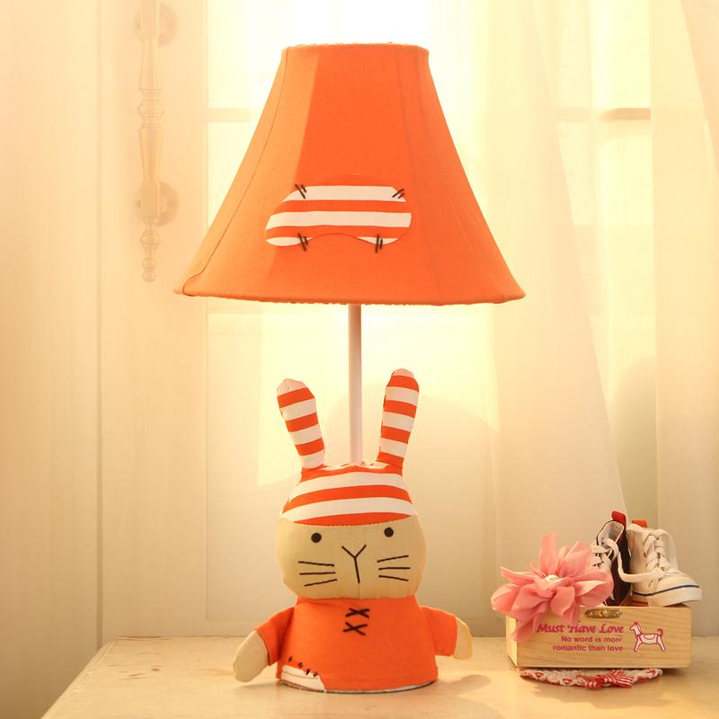 Simple Bedroom Lighting Bedroom Furniture South Africa Bedroom Bench Ebay Brown Bedroom Colour Schemes: Simple Pastoral Creative Children's Cartoon Lamp Bedroom