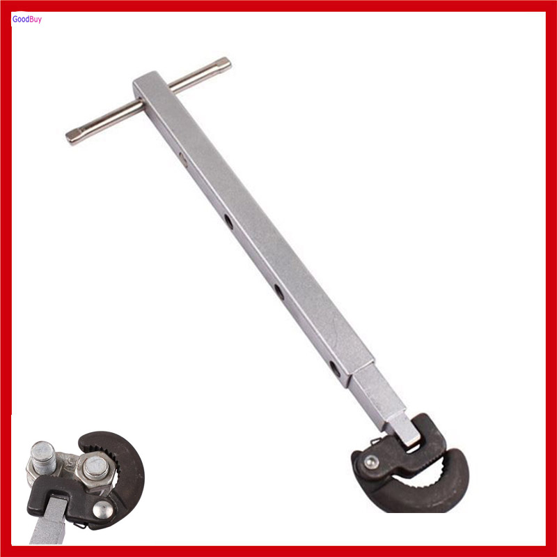 New Angle Adjustable Basin Wrench Soft Tube Tap Faucet Water Pipe Hose Telescopic Wrench Spanner(China (Mainland))