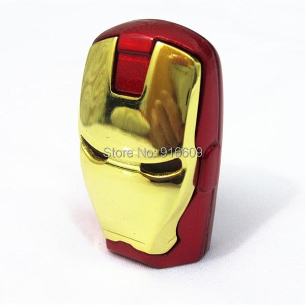 W14 Real capacity Avengers Iron Man Metal usb flash drive 4GB 8GB 16GB 32GB USB 2