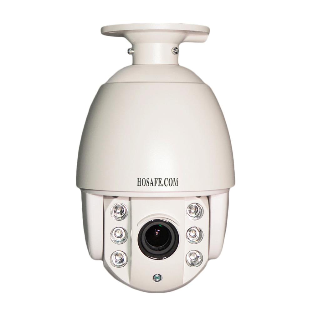 HOSAFE X2MSD1-C POE 1080P Mini Speed 4X Zoom Auto Focus Dome PTZ IP Camera with 6 Array IR LEDs, 60m Night Vision, IP66(China (Mainland))