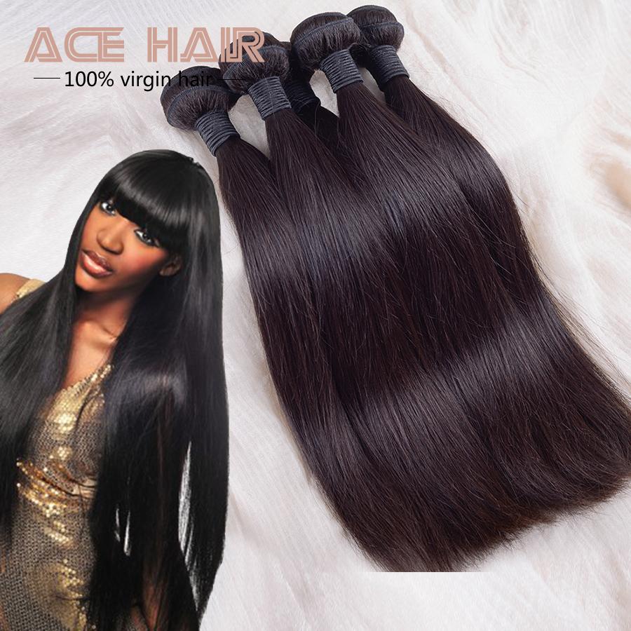 Straight Human Hair Peruvian Straight Hair 2Pcs Virgin Straight Hair Peruvian Weave 8-24 Inch Tissage Peruvian Free Shipping<br><br>Aliexpress