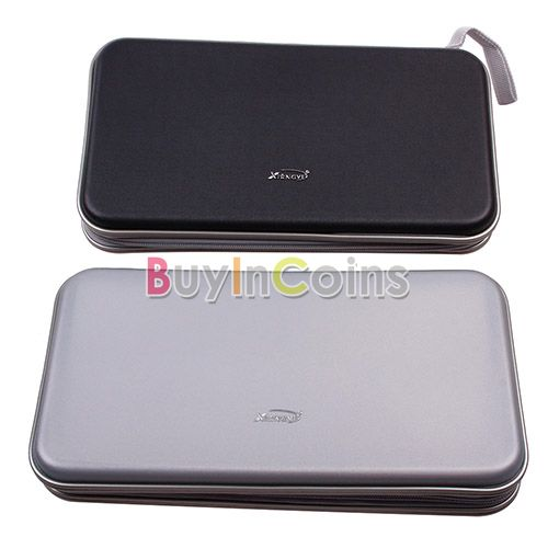 New Portable 80 Disc CD DVD Wallet Storage Organizer Bag Case Holder Album Box US AS #23496(China (Mainland))