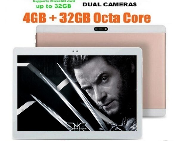 Free shipping 10 Inch Octa Core Tablet pc 4GB RAM 64GB ROM Android 4.4 dual sim WiFi FM IPS Phone Call 3G GPS Tablets(China (Mainland))