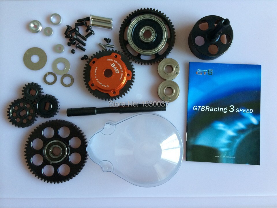 1/5 Baja 3 Speed Transmission Kit for HPI Rovan Baja Buggy 5B 5T 5SC KM книги эксмо стихотворения поэмы повести рассказы