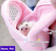 African Hedgehog Hamster Breathable Pet dog Carrier Bags Handbags Puppy Cat Travel Backpack prevent urine bag Drop Shipping M53