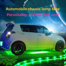 90 * 60 chassis lights Remote control chassis lights will shine a variety of patterns 7 colour transform with voice control(China (Mainland))