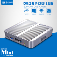 Desktop Computer,Mini PC,I7 4500U 1.8GHz,Laptop,No ram,ssd,WIFI,HD Video,Support USB Keyboard and Mouse(China (Mainland))