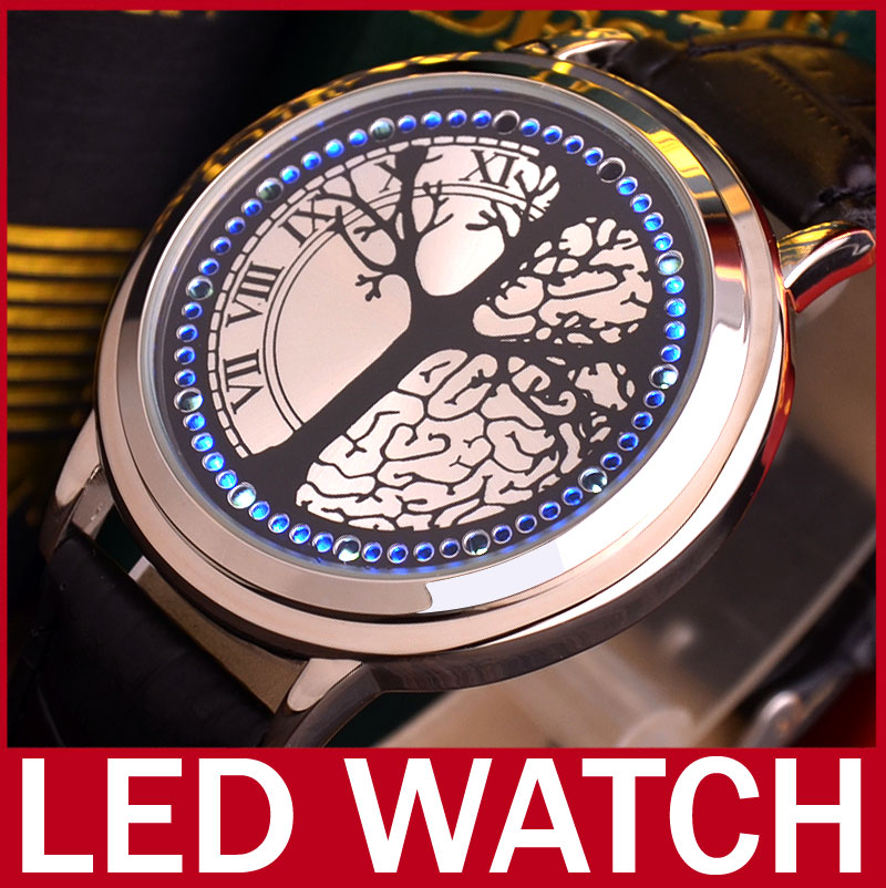 Touch Screen LED Watch | eBay