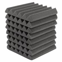 8Pcs 305 x 305 x 45mm Soundproofing Foam Acoustic Foam Sound Treatment Studio Room Absorption Wedge Tiles Polyurethane foam(China (Mainland))