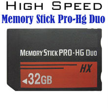 Free shipping real Capacity MS HG 1/2/4/8/16GB 32GB 64GB Memory Stick Pro Duo Memory Cards for sony psp phone tablet camera(China (Mainland))