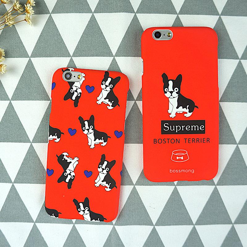 Fashion Hard PC Cartoon cute dog Case For iphone 5S 5 SE 6 6S Plus 4.7&5.5inch phone Case Cute hippopotamus Moomin Cover Capa(China (Mainland))