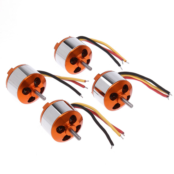 Brand New 4 * 2212 13T Outrunner 1000KV Brushless Motor for RC Quadcopter Part(China (Mainland))