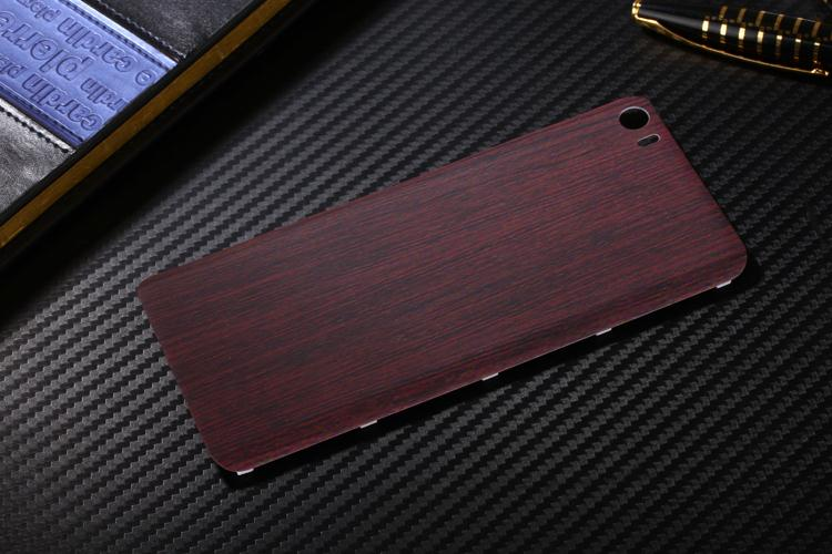 Original Wood Bamboo Pattern Case For Xiaomi 5 Mi5 M5 5.15inch Back Battery Cover Housing Replacement Parts + Free Sucker